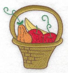 Bountiful Basket embroidery design