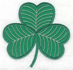 Shamrock  Applique embroidery design