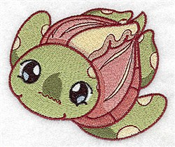 Turtle Toy embroidery design