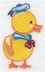 Sailor Duck embroidery design