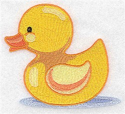 Little Duck embroidery design