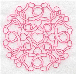 Ribbons & Ribbons embroidery design