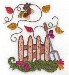 Picket Fence embroidery design