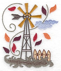 Weather Vane embroidery design
