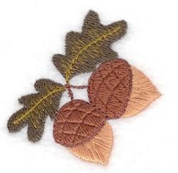 Fall Acorns embroidery design