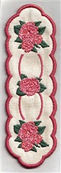 Bookmark 111 roses embroidery design