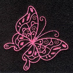 Elegant Butterfly embroidery design