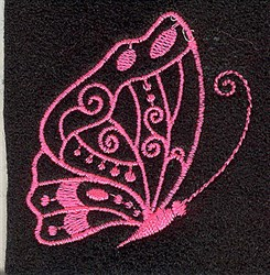 Butterfly Elegant embroidery design
