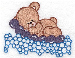 Bear Floating embroidery design