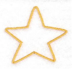 Christmas Star embroidery design