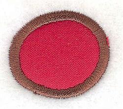 Period Applique embroidery design