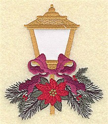 Outdoor Lamp embroidery design