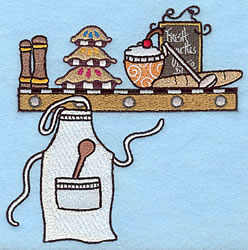 on the shelf machine embroidery design