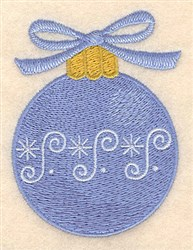 Christmas Bauble embroidery design