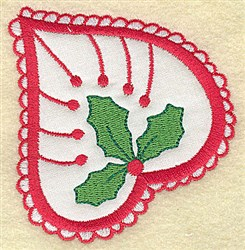 Christmas Paisley design B embroidery design
