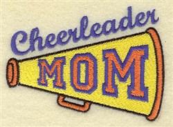 Cheerleader Mom embroidery design
