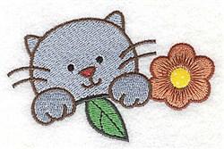 Sweet Kitten embroidery design