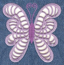 Elegant Cutwork Butterfly embroidery design
