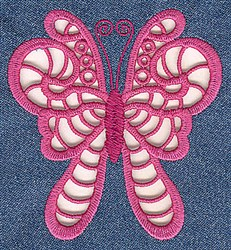 Moth Cutwork embroidery design
