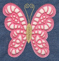 Two Color Cutwork embroidery design