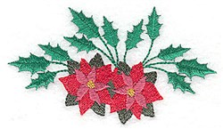 Christmas Arrangement embroidery design