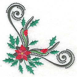 Holiday Corner embroidery design