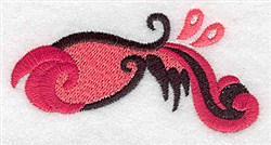 Elegant Swirls embroidery design