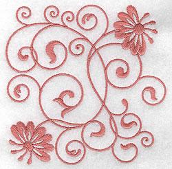 Beautiful Floral Design embroidery design