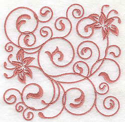 Swirl Design embroidery design