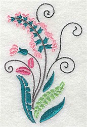 Dainty Bloom embroidery design