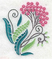 Dainty Flower embroidery design