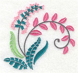 Dainty Blossom embroidery design
