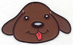 Devoted Dog Applique embroidery design