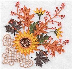 Sunflower Design embroidery design