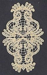 FSL Elegant Lace embroidery design