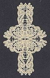 Lace FSL embroidery design