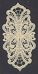 FSL Lace Pattern embroidery design