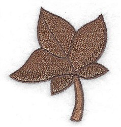 Fall Leaf embroidery design