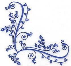Baroque Corner embroidery design