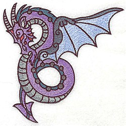Dragon Fantasy embroidery design