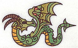 Dragon Fantasy embroidery design