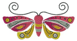 Butterfly Insect embroidery design