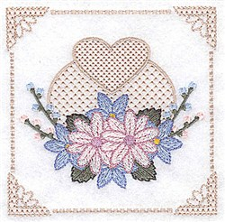 Flowers And Buds embroidery design