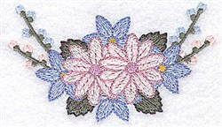Flower Buds embroidery design