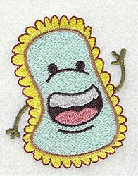 Say Boo To Germs embroidery design