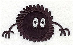 Germ Are Tough Applique embroidery design