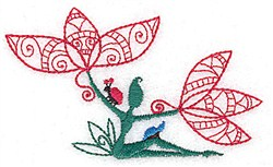 Flower Fairy embroidery design