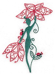 Flower Flower embroidery design