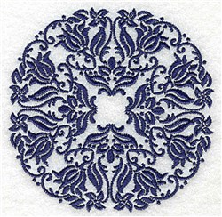 Lovely Circle embroidery design