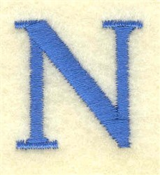 Nu Small embroidery design
